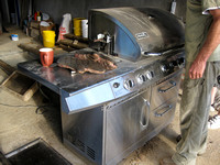 A coffee-roaster a.k.a.  BBQ  !!