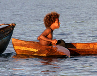 You're never too young to have your own canoe...