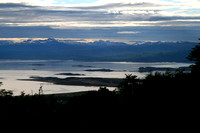 First view of the Beagle Channel