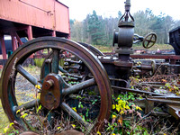 Derelict  steam engine.