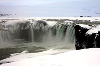 ....the frozen  waterfall.