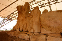 The prehistoric megalith temple complex at Mnajdra...one of the oldest religious sites on Earth.